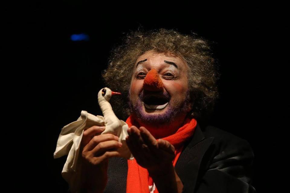 Stage-attore-clown-vladimir olshansky